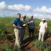 B.M.D.C working hand in hand with onion farmers from Corozal District