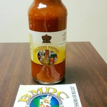 Belizean pepper Sauce