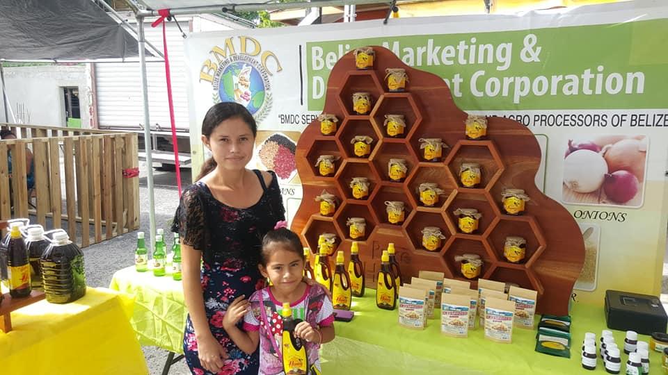 Belize jewels Honey at BTIA EXPO 2018 Orange Walk