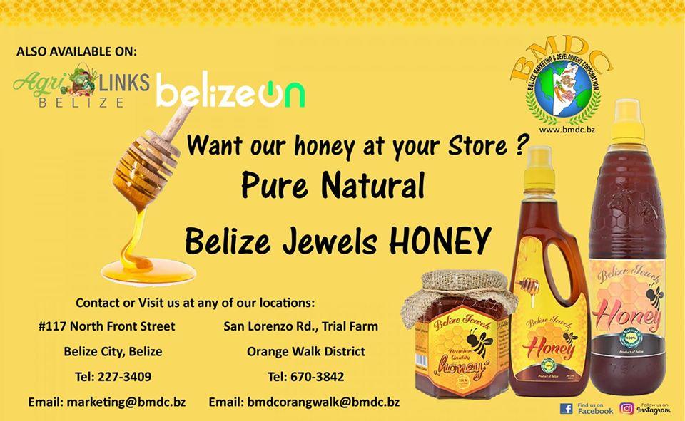 Belize Jewles Honey
