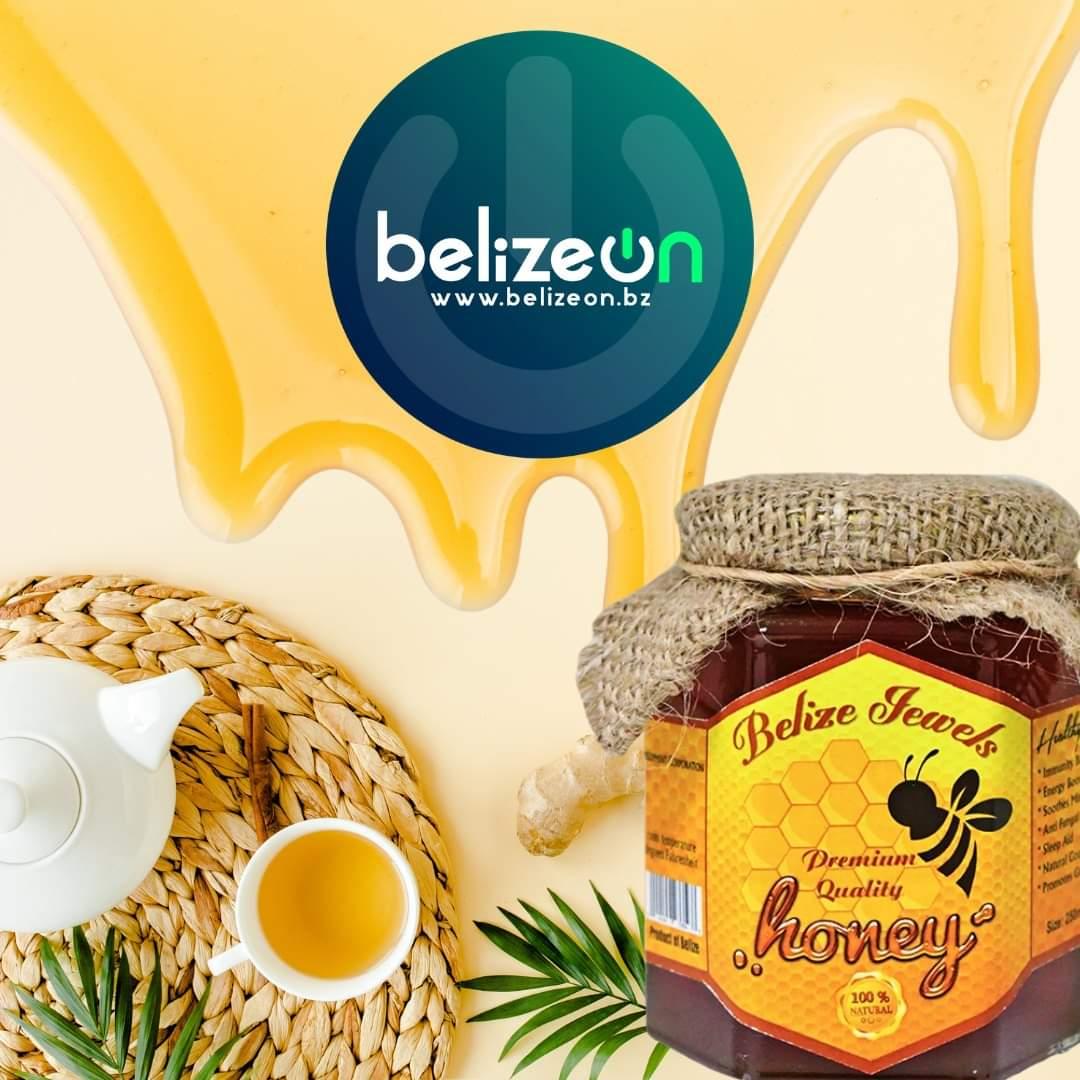 250ml. Belize Jewels Honey